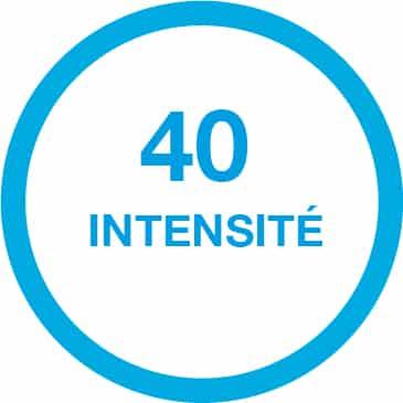 40 intensité beurer