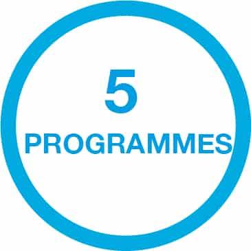 5 programmes ceinture beurer