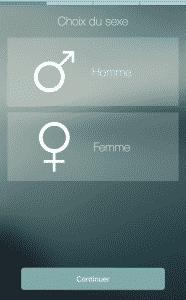 Choix du sexe slendertone