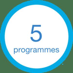 Ceinture à 5 programmes