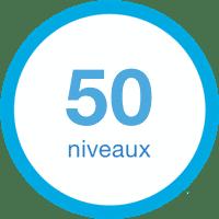 50 niveaux électrostimulation
