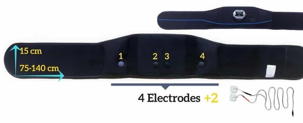 ceinture electrodes veofit