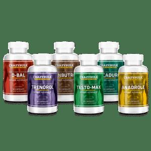 Crazybulk pack ultime steroides naturels